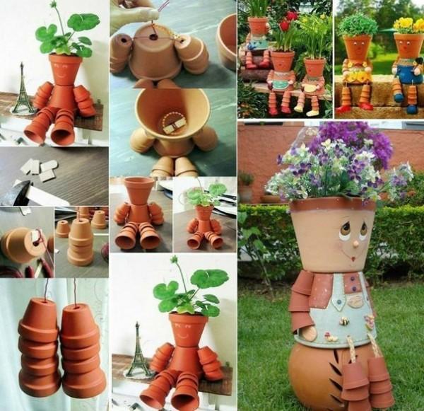 Прикольные вещи своими руками в саду