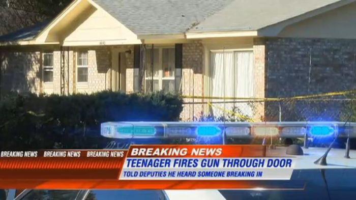 В США 13-летний подросток застрелил грабителя из маминого пистолета грабители, подросток, убийство
