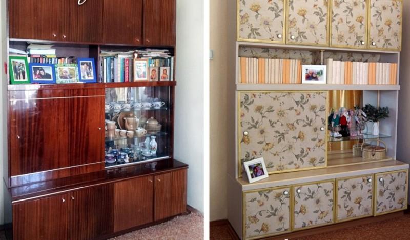Когда нет возможности приобрести новую мебель, а старая уже очень надоела — новая жизнь советской мебели