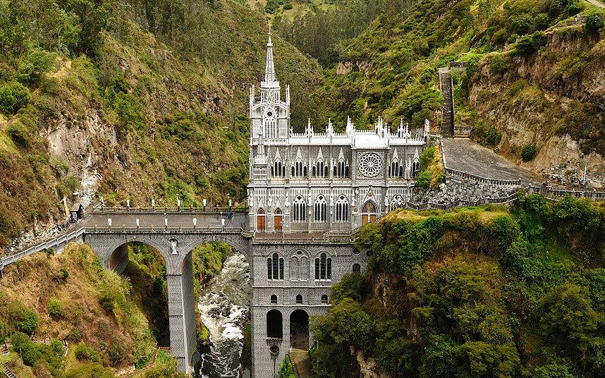 Святилище Лас-Лахас, Колумбия