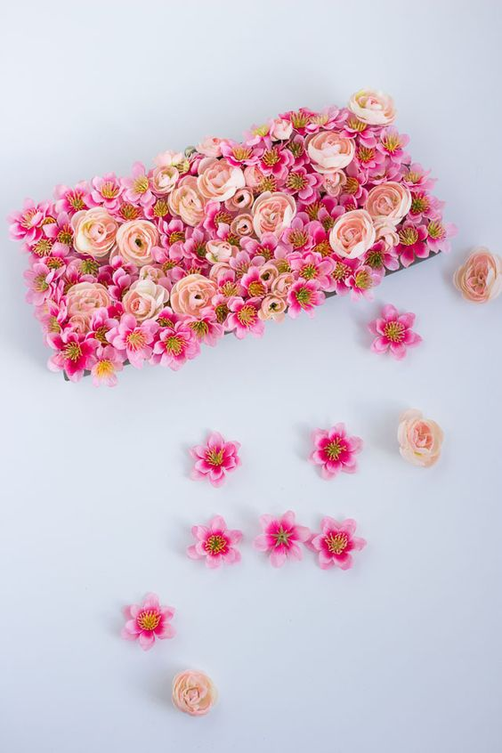 Нарядная сумочка  с цветами (Diy)