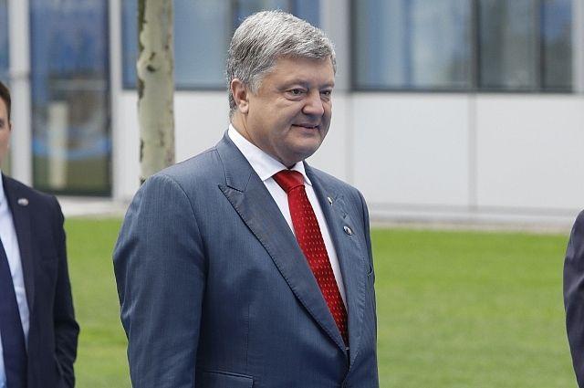 Глава Украины посетил военно-морские учения Sea Breeze