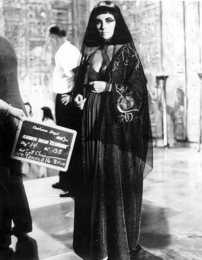 Элизабет Тейлор (Elizabeth Taylor) на съемках фильма «Клеопатра» (Cleopatra) (1963), фото 26