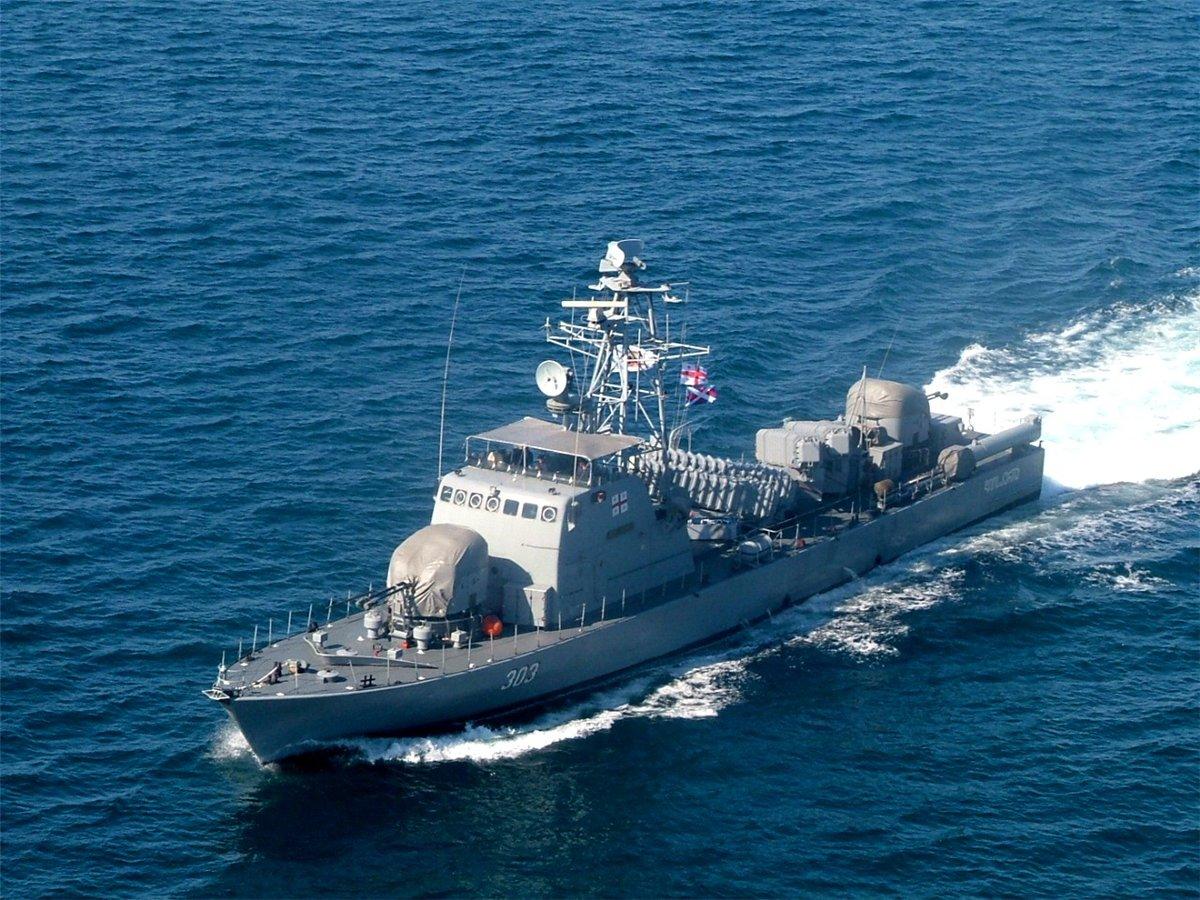 Черноморский флот в «Пятидневной войне»