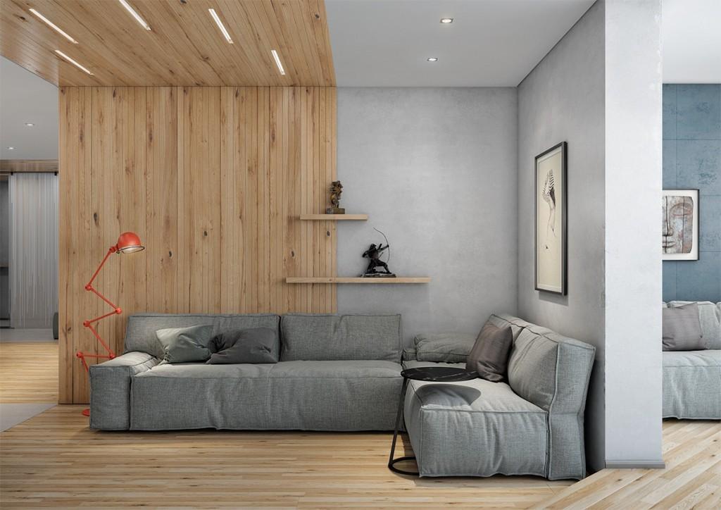 Две милые квартиры с деревянными панелями