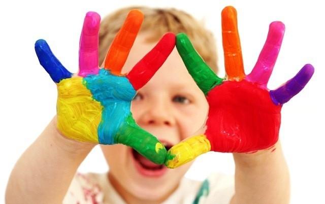 Самодельные краски для детей