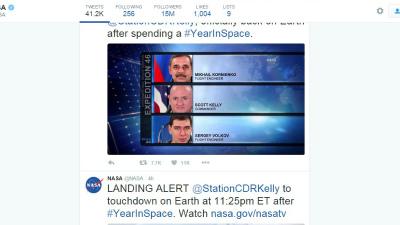 Вернувшиеся с МКС космонавты…