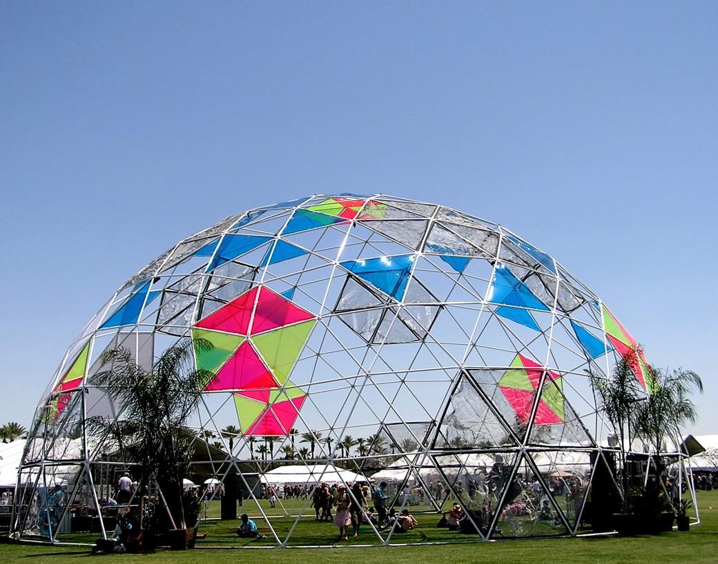 90-футовый купол в Европе