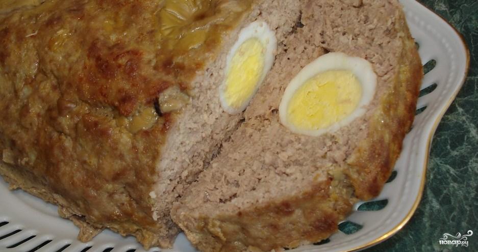 Яйцо в фарше рецепт с фото