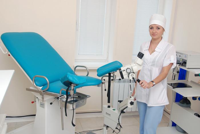 фотографии прием гинеколога