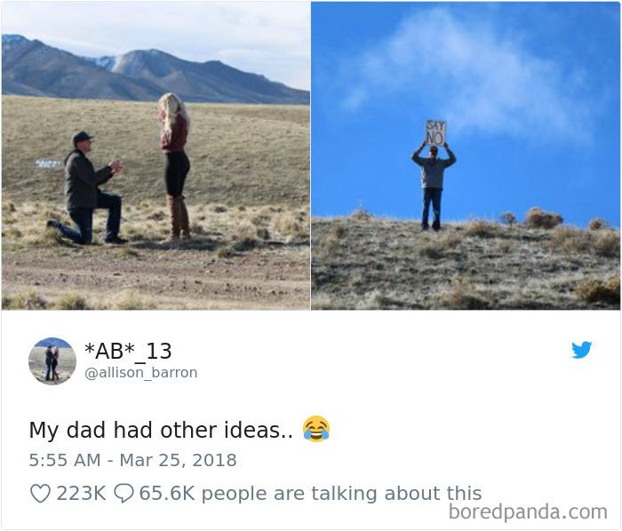 Шуточки от отцов, чьи дочери…