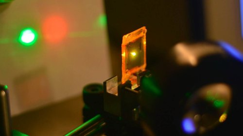 Резиновый лазер