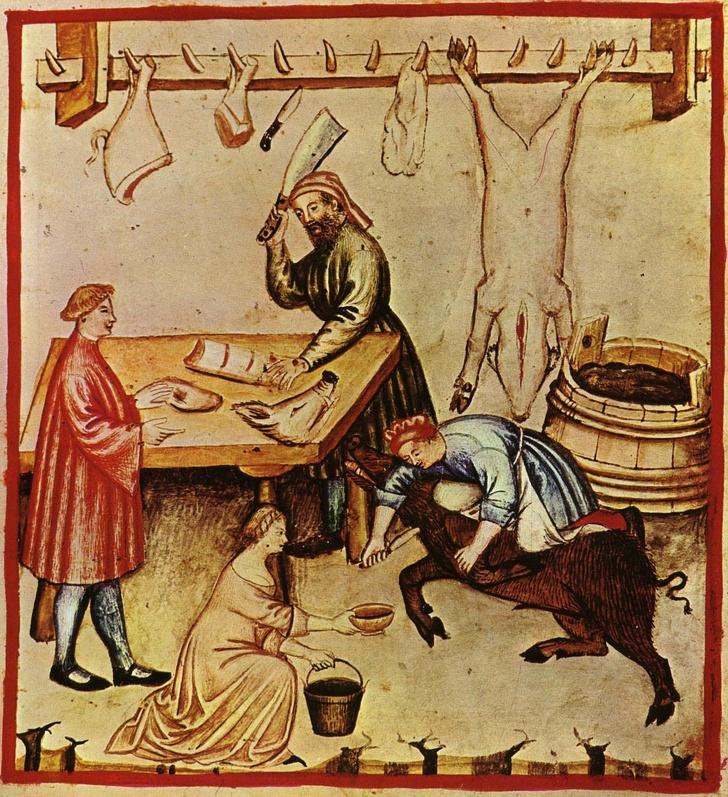 Как бы выглядело ваше меню, если бы вы родились в средневековой Европе