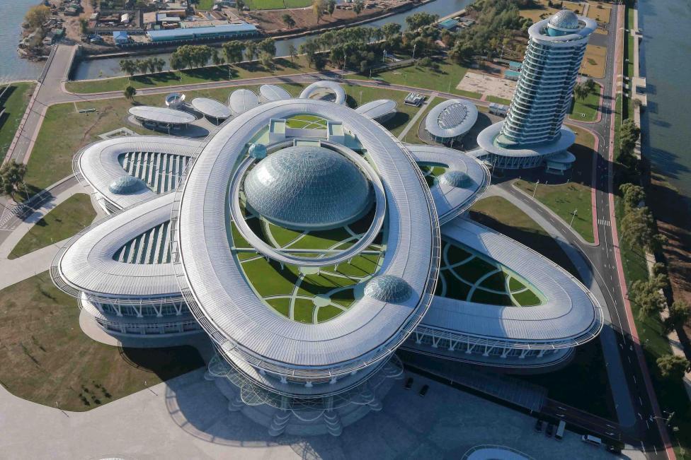 Невероятная архитектура Северной Кореи
