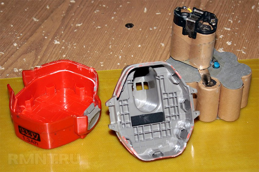 Ремонт аккумуляторов для шуруповерта своими руками фото