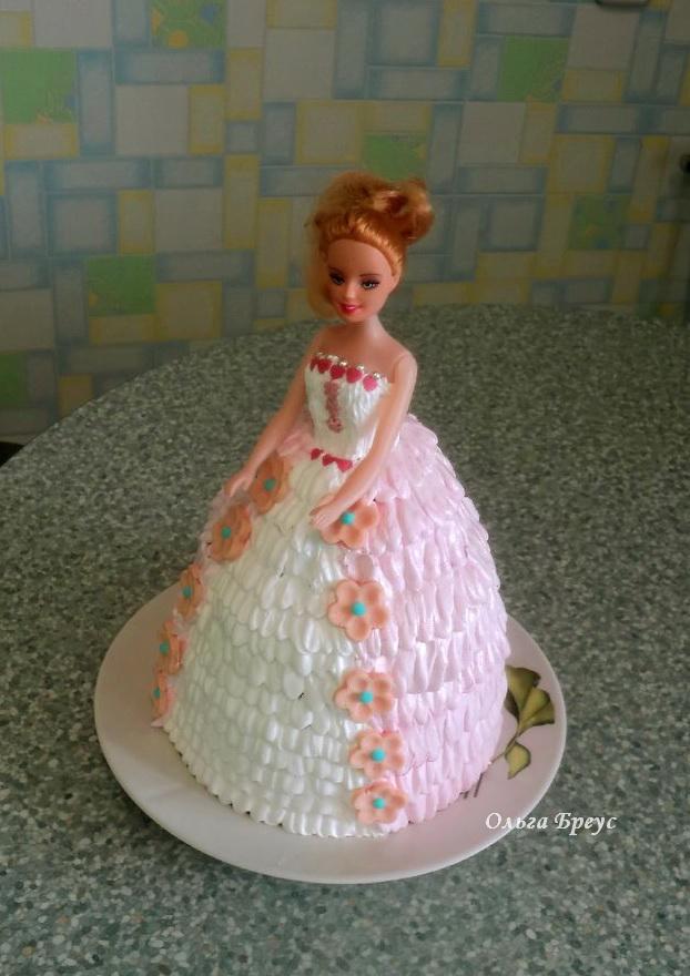 Торт Кукла. еще один тортик для детей