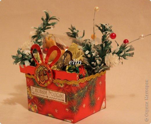 Мастер-класс Свит-дизайн Упаковка Новый год Разные сладкие работы Бумага Материал оберточный Проволока Продукты пищевые фото 8