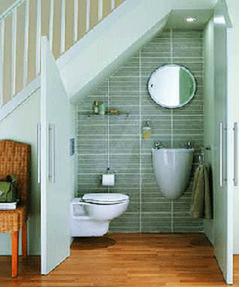 Pinterest small bathroom