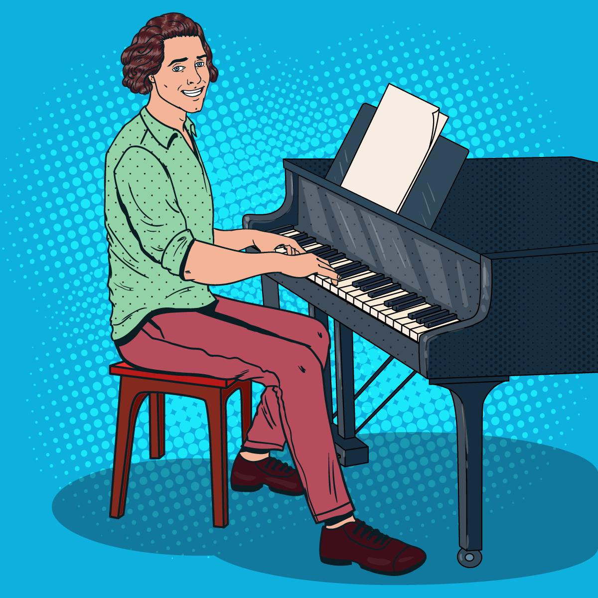 Анекдот про то, как пианист концерт Рахманинова настудии записывал