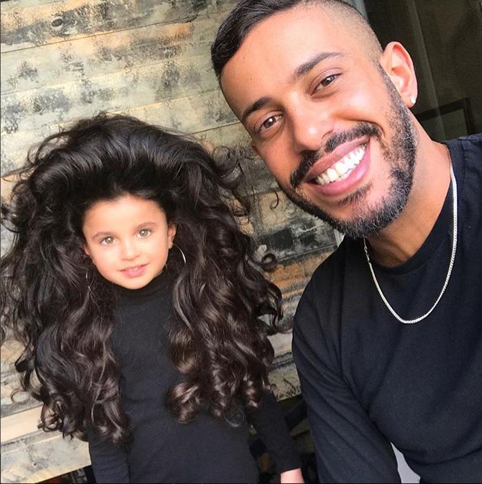 Маленькая Рапунцель из Израиля покорила соцсети