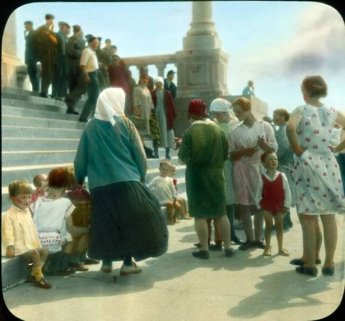 Редчайшие снимки Москвы 1931 года в цвете