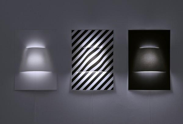 Новый взгляд на светильники: бумажные бра