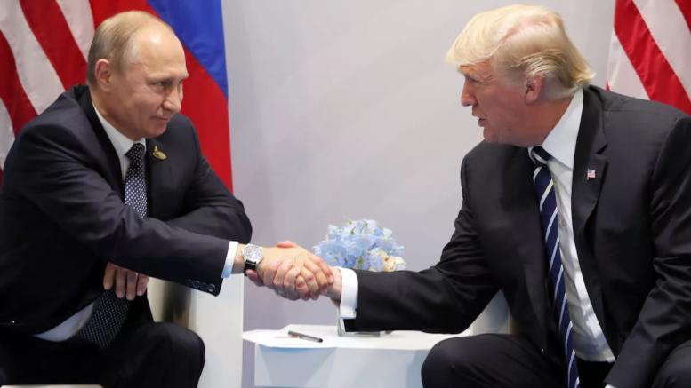Встреча Путина и Трампа: поп…