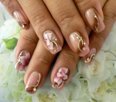 Классические рисунки на ногтях