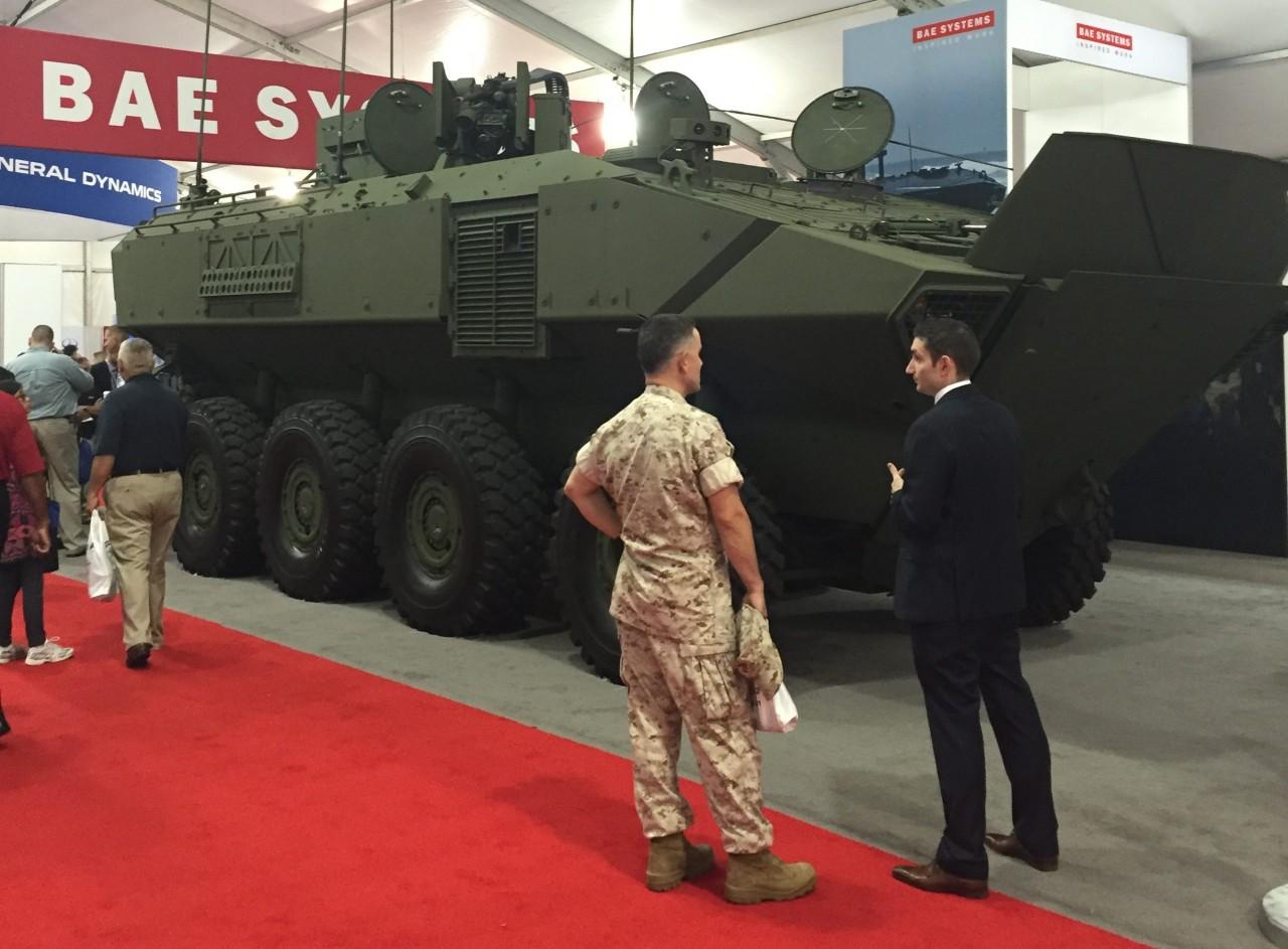 BAE Systems выиграла тендер морской пехоты США на колесный бронетранспортер ACV