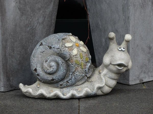 Улитка из бетона своими руками
