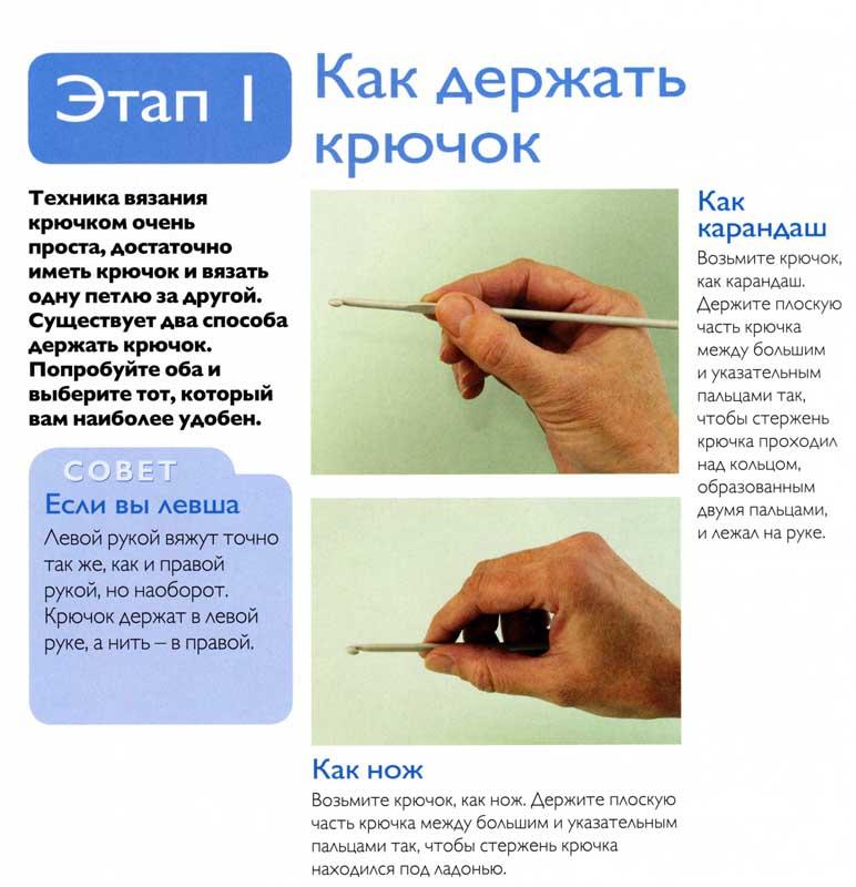 Азы вязания крючком