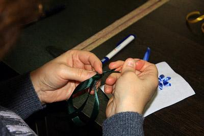 вышивка атласными лентами мастер класс