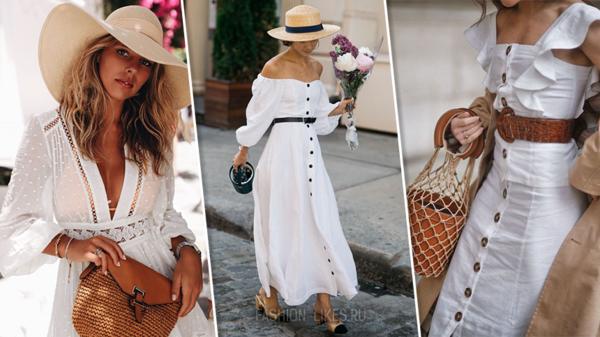 12 изящных образов с белыми вещами, мимо которых невозможно пройти