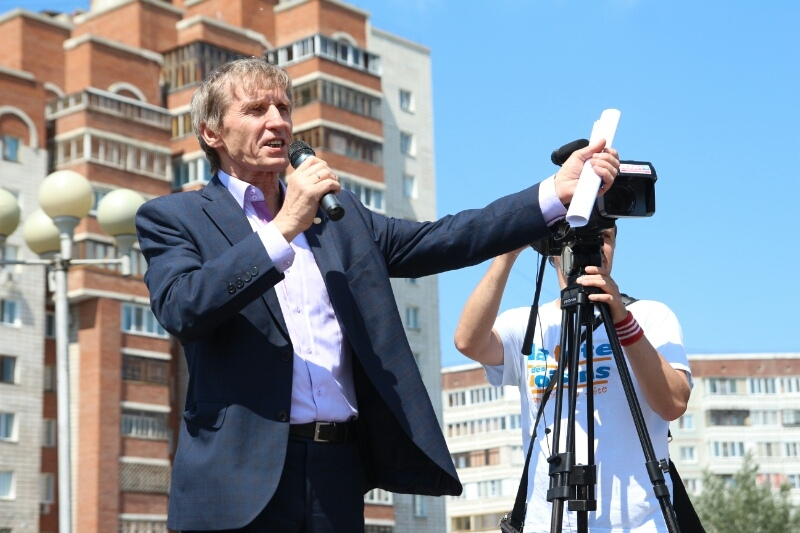 Омичи на митинге потребовали отставки Путина и Медведева   [ФОТО]