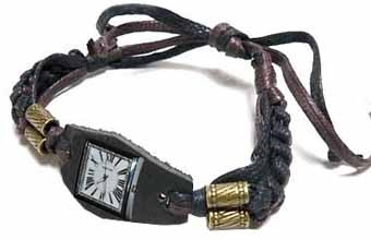 Сделать кожаный браслет для часов своими руками