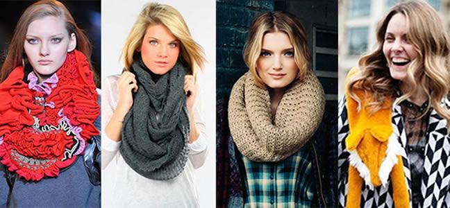 Стильные женские шарфы сезона осень-зима - выбираем свой любимый шарфик