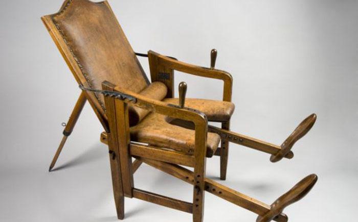 Кресло для родов, 1601-1700 гг, Европа