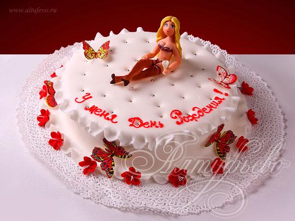 Эротические и просто прикольные торты. Часть 2. (27 фото)