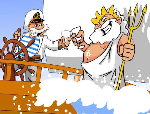 Поздравления морякам днем рождения