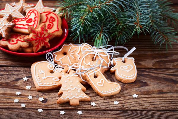 Печенье праздничное