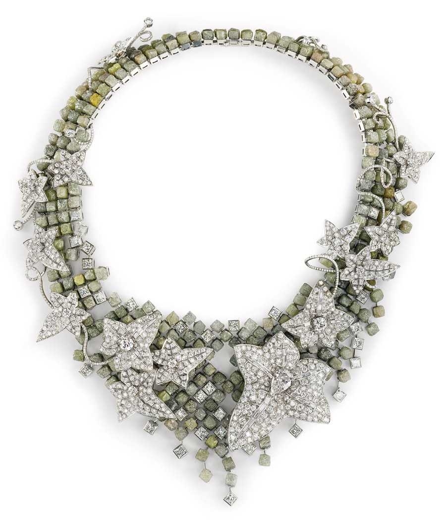 Boucheron's Lierre de Paris necklace inspired b