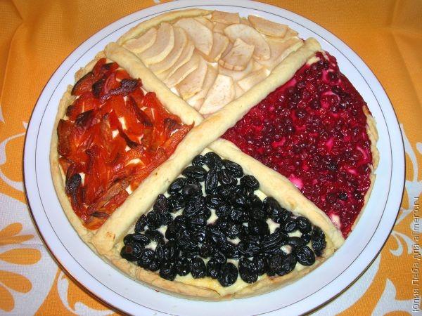Четырёхцветный пирог