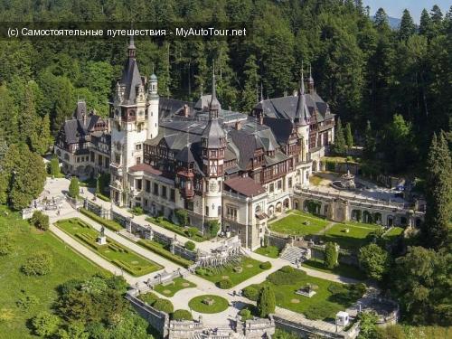 Замок Пелеш - жемчужина Румынии