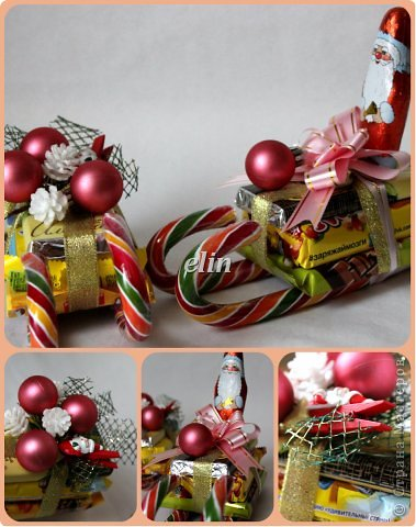 Мастер-класс Свит-дизайн Упаковка Новый год Разные сладкие работы Бумага Материал оберточный Проволока Продукты пищевые фото 5