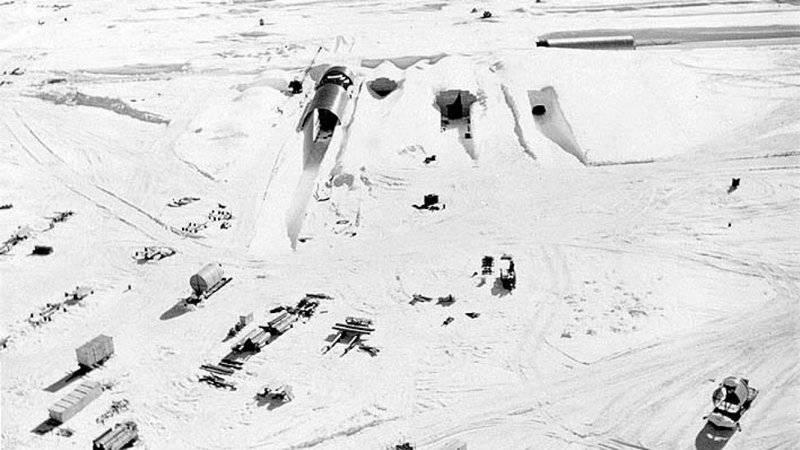 В Гренландии начала оттаивать созданная для борьбы с СССР ядерная база США