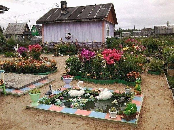 Оригинальные идеи для сада