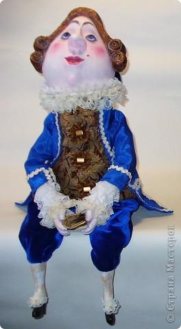Куклы Папье-маше мусье Бэзэ Эклер Ткань фото 1
