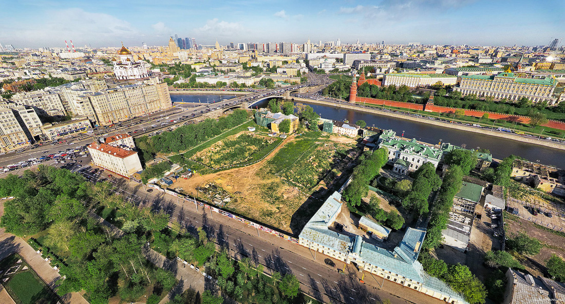Что построят напротив Кремля?