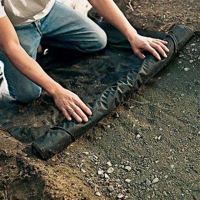 Технология укладки декоративного щебня и мраморной крошки