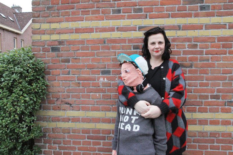 """Теперь маме есть кого """"душить"""" своими объятиями вязание, нидерланды, пубертат, рукоделие"""